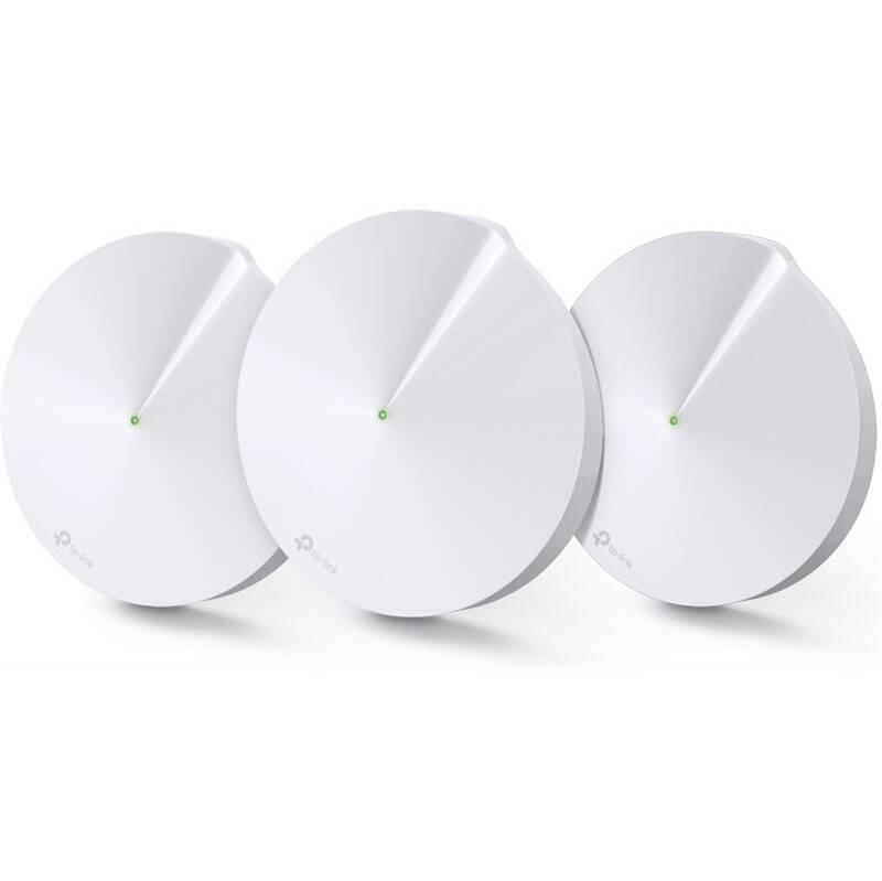 Kompletný Wi-Fi systém TP-Link Deco M9 Plus (3-pack) + IP TV na 3 měsíce ZDARMA (Deco M9 Plus(3-pack)) biely