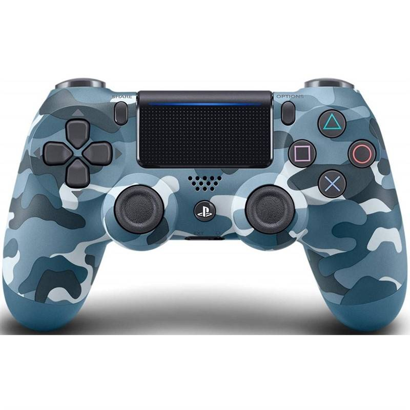 Gamepad Sony Dual Shock 4 pro PS4 v2 - Blue Camouflage (PS719725817)