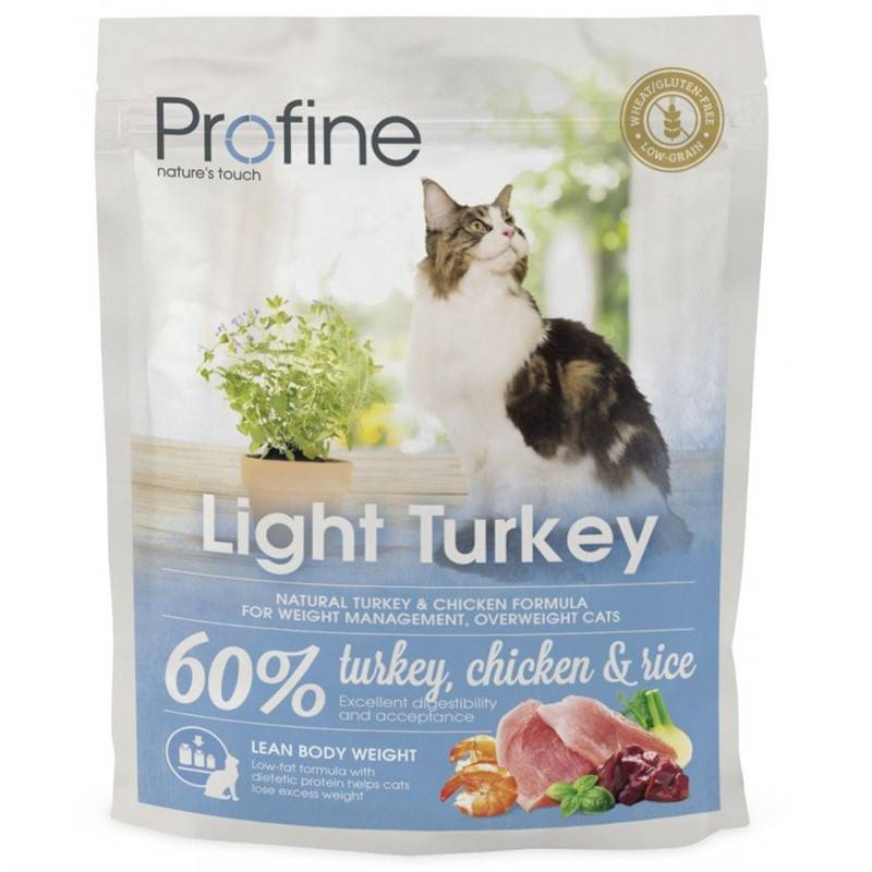 Granule PROFINE Cat Light Turkey 300g