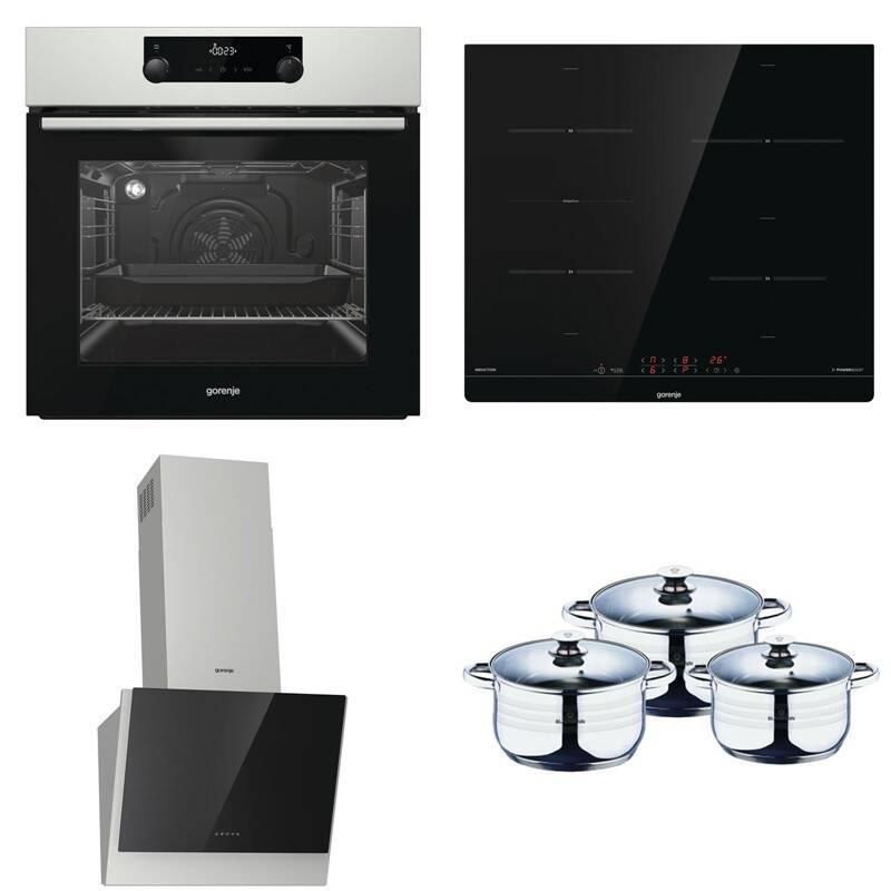 Set výrobků Gorenje BA737EX + IT43SC + DVG643XB + BL-3160