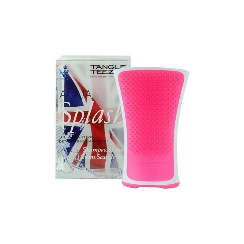 Kefa na vlasy Tangle Teezer Aqua Splash Pink Shrimp (na mokré vlasy) ružový