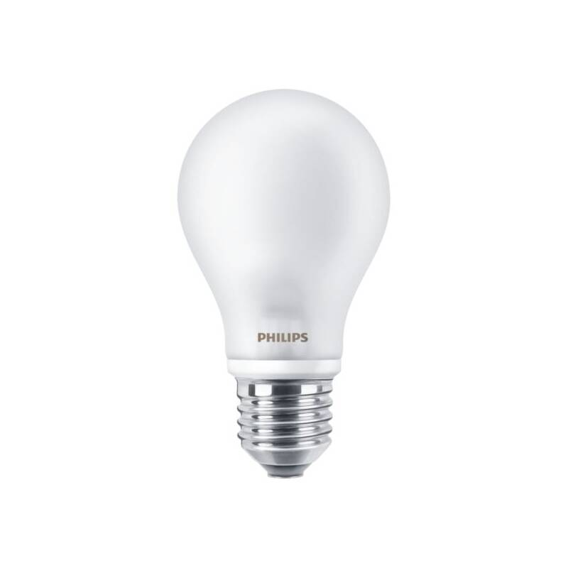 LED žiarovka Philips klasik, E27, 7W, teplá bílá (8718696472187)
