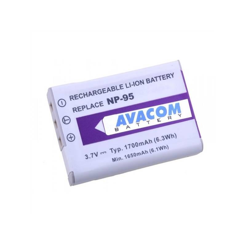 Batéria Avacom pro Fujifilm NP-95, Ricoh DB-90 Li-Ion 3.7V 1700mAh (DIFU-NP95-351)