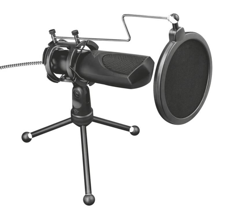 Mikrofón Trust GXT 232 Mantis (22656) čierny + Doprava zadarmo