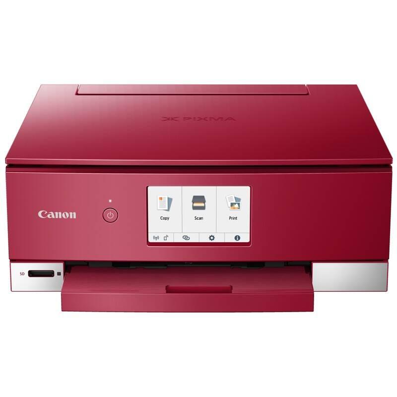 Tlačiareň multifunkčná Canon TS8352 (3775C046AA) červená