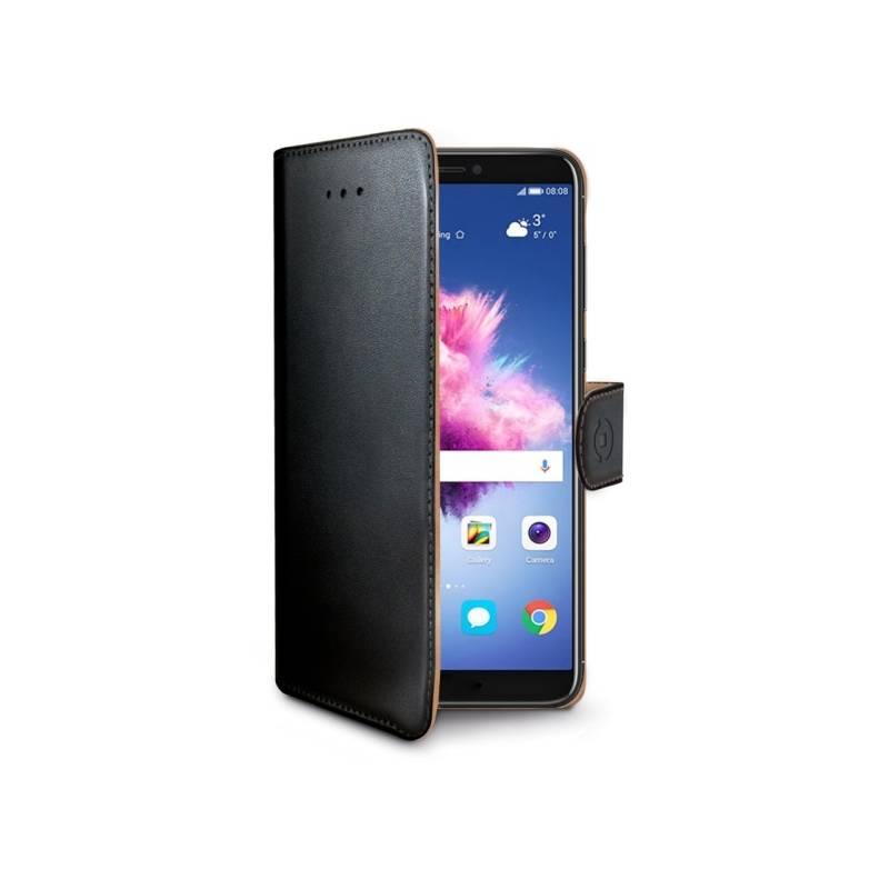 Puzdro na mobil flipové Celly Wally pro Huawei P Smart (WALLY710) čierne