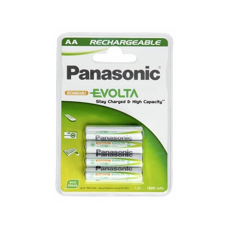 Batéria nabíjacie Panasonic Evolta AA, HR6, 1900mAh, blistr ks