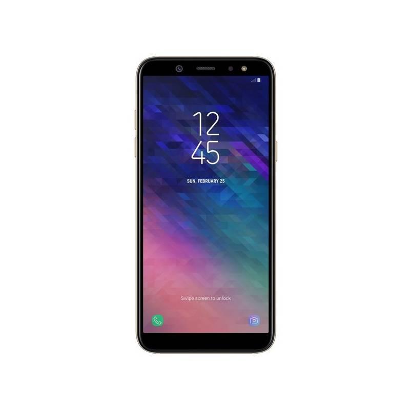 Mobilný telefón Samsung Galaxy A6 (SM-A600FZDNXEZ) zlatý Software F-Secure SAFE, 3 zařízení / 6 měsíců (zdarma)