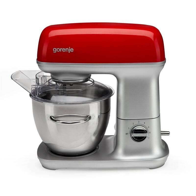 Kuchynský robot Gorenje Retro MMC1000RLR červený + Doprava zadarmo