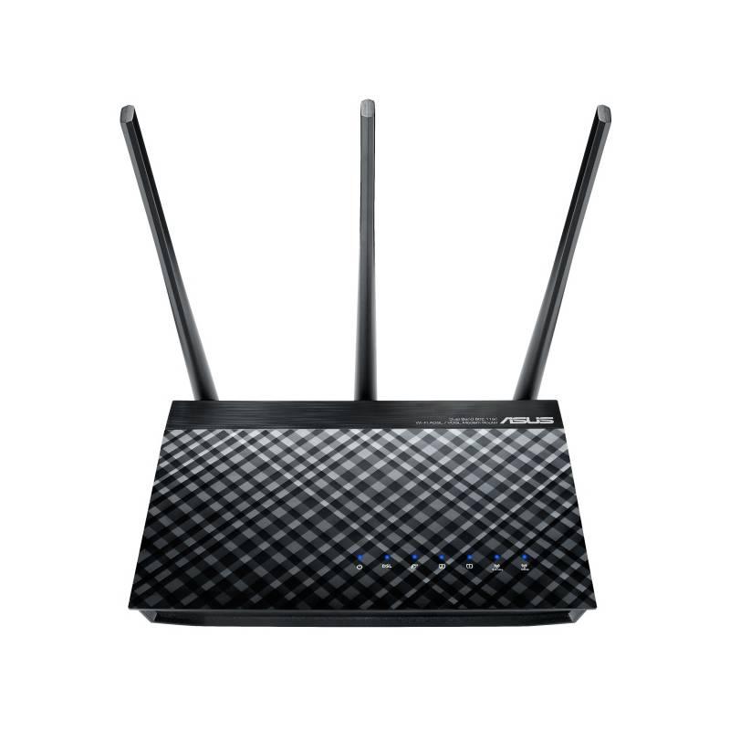 Router Asus DSL-AC51 (90IG0471-BO3100) čierny