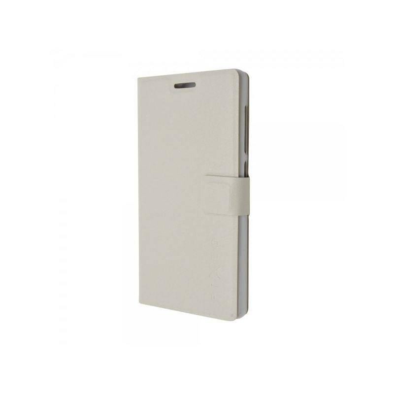 Puzdro na mobil flipové FIXED pro Lenovo A7010 a A7010 Pro (FIXBC-079-WH) biele