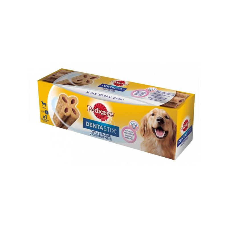 Pochúťka Pedigree Denta TWICE Weekly Maxi 120g