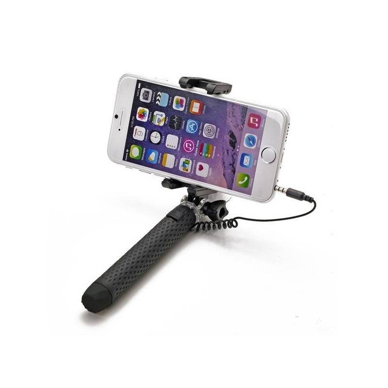 Selfie tyč Celly Mini (MINISELFIEBK) čierna