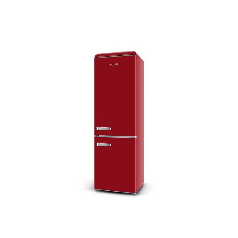 Kombinácia chladničky s mrazničkou ETA Storio 237890030 červená + Doprava zadarmo