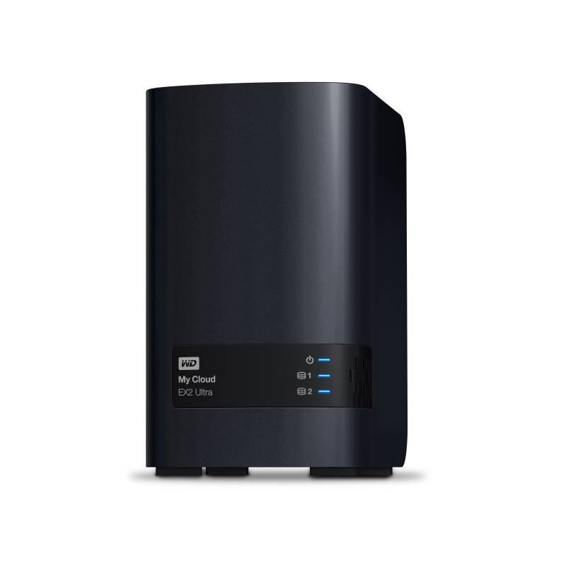 Sieťové úložište Western Digital My Cloud EX2 Ultra 8TB (WDBVBZ0080JCH-EESN) čierne + Doprava zadarmo