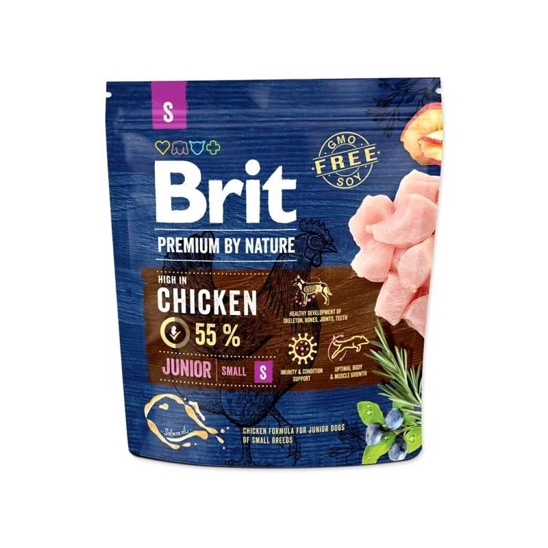 Granule Brit Premium Dog by Nature Junior S 1 kg