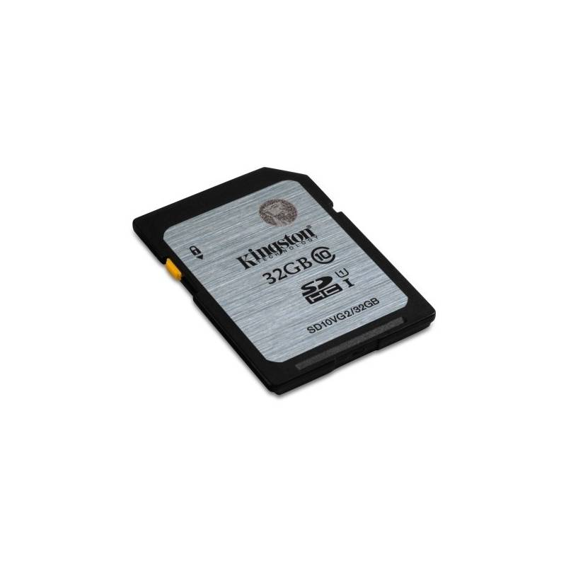 Pamäťová karta Kingston SDHC 32GB UHS-I U1 (45R/10W) (SD10VG2/32GB)