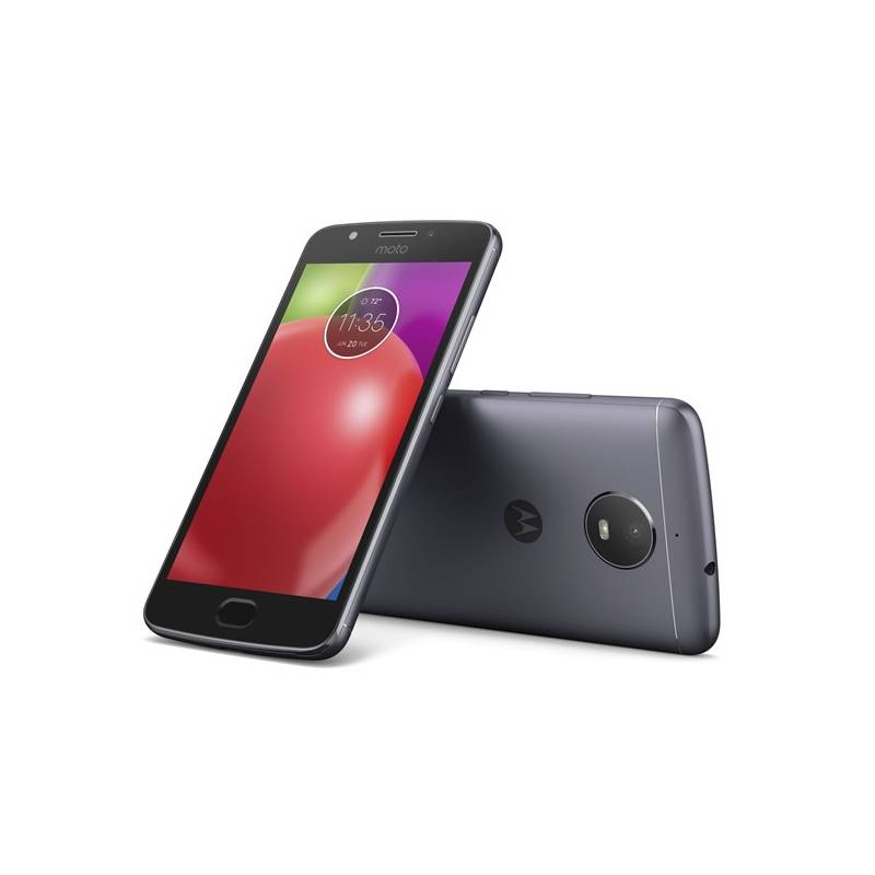 Mobilný telefón Motorola Moto E Dual SIM (PA750057CZ) sivý