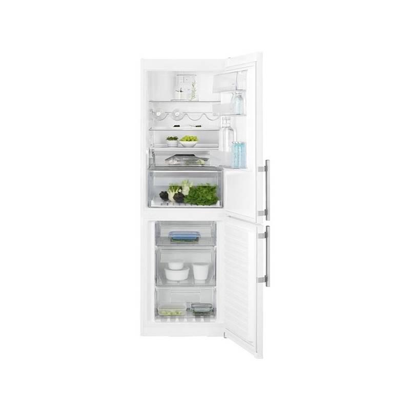 Kombinácia chladničky s mrazničkou Electrolux EN3454NOW biela + Doprava zadarmo