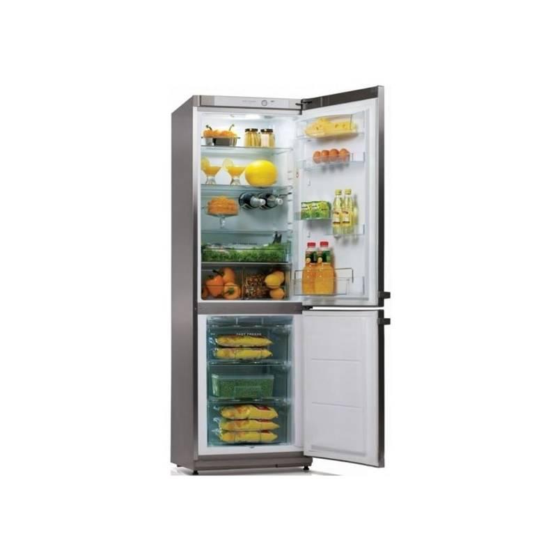 Kombinácia chladničky s mrazničkou Snaige Ice Logic RF34SM P1CB27 nerez + Doprava zadarmo