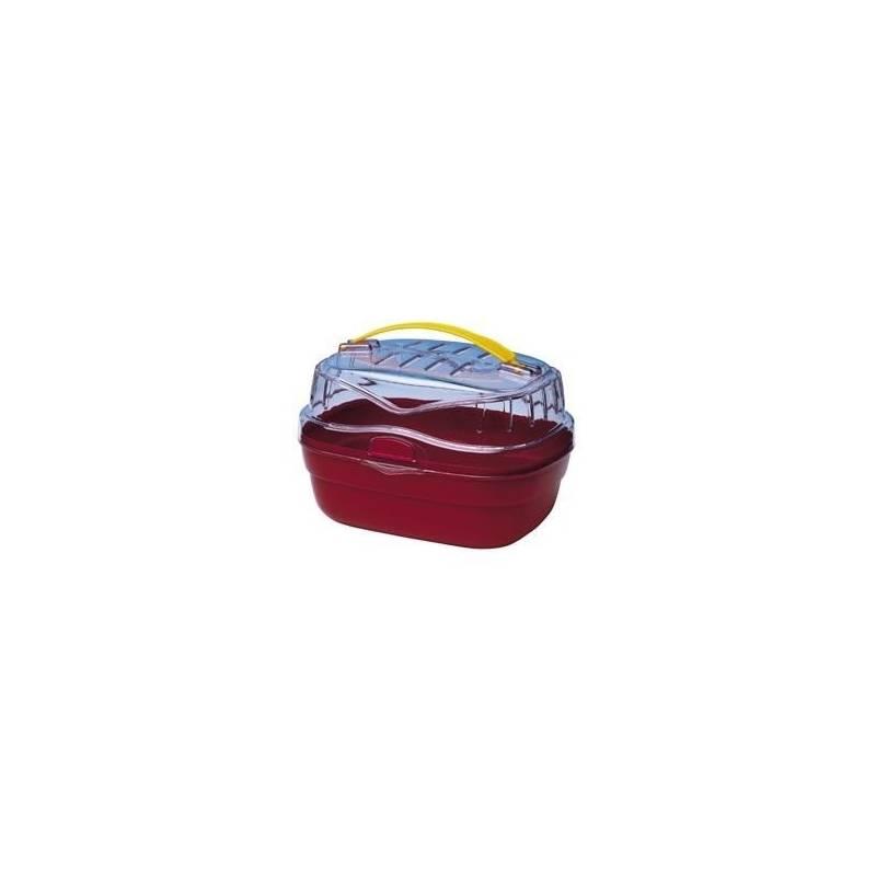 Prepravka Ferplast pro hlodavce ALADINO S červená 20 x 16 x 13,5 cm