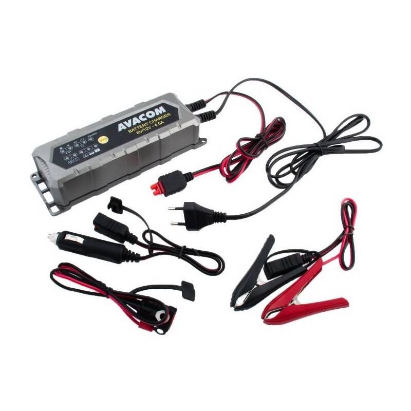 Nabíjačka Avacom 6V/12V 4,5A pro olověné AGM/GEL akumulátory (1,2 - 120Ah) (NAPB-A045-612)