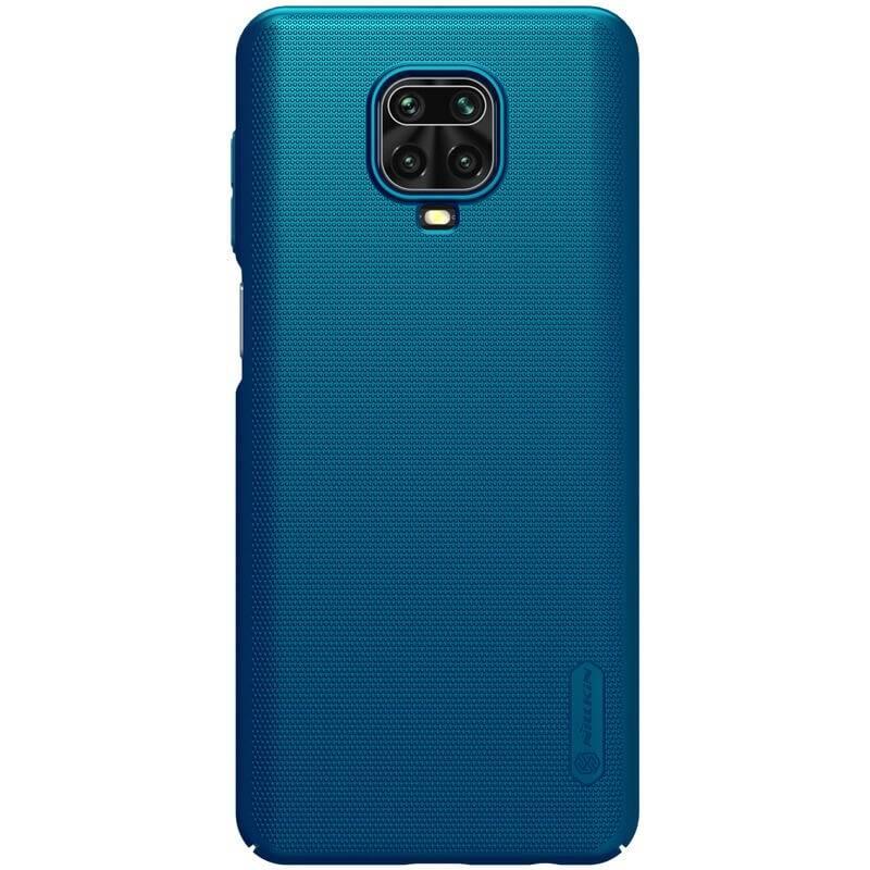 Kryt na mobil Nillkin Super Frosted na Xiaomi Redmi Note 9 Pro/Max/Note 9S modrý