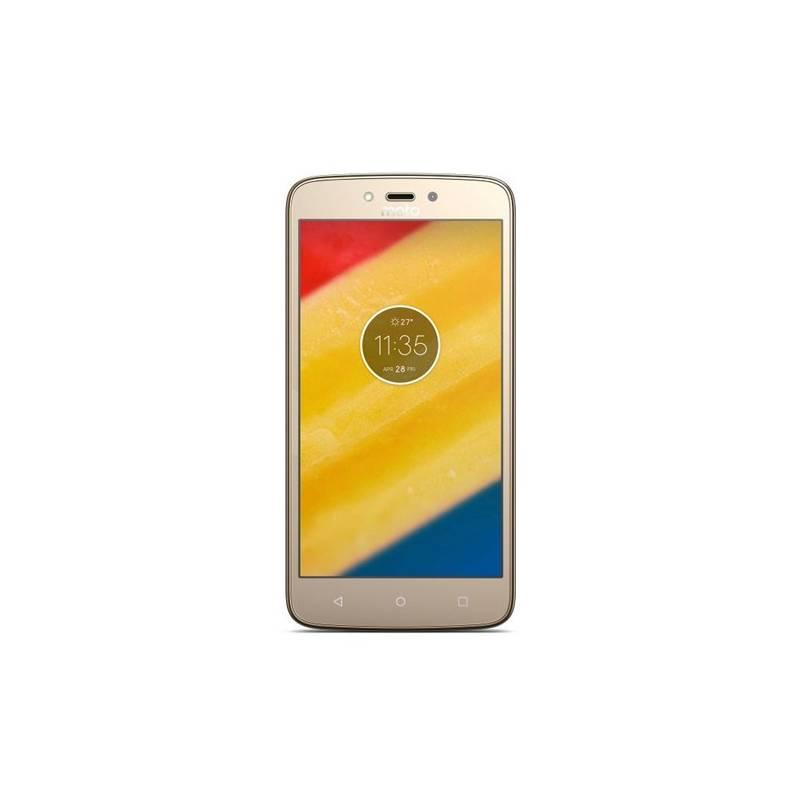 Mobilný telefón Motorola C Plus, dual SIM, 1GB RAM, Fine Gold (442091) + Doprava zadarmo