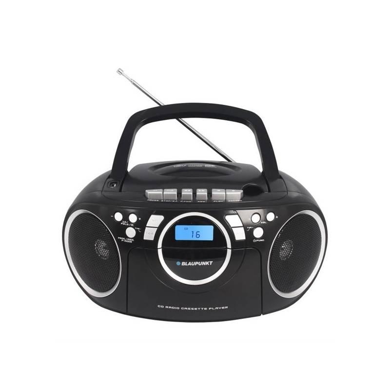 Rádiomagnetofón s CD Blaupunkt BB16BK čierny