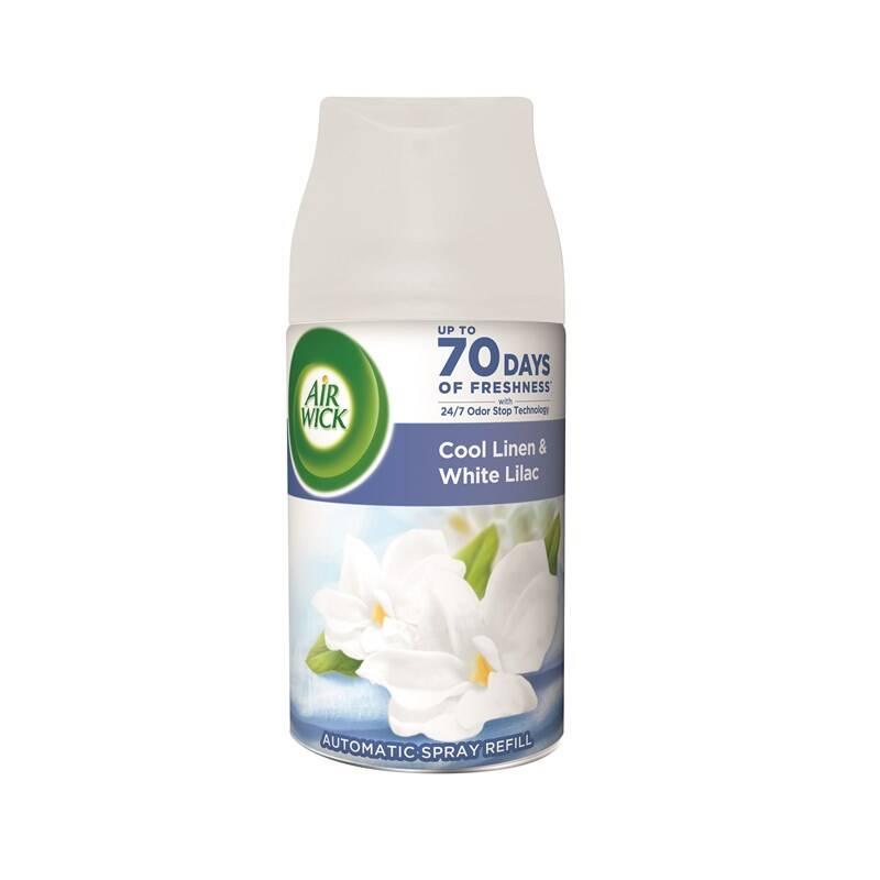 Osviežovač vzduchu Air Wick FreshMatic, náplň, Cool Linen & White Lilac 250 ml