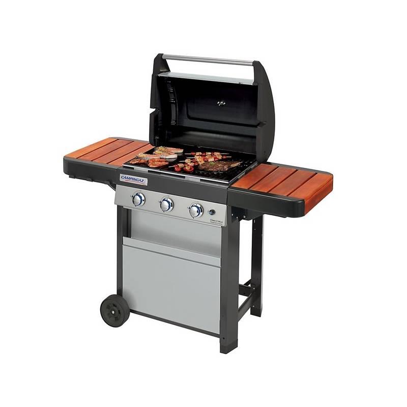 Gril záhradný plynový Campingaz Class 3 WLX + Sada Campingaz pro připojení spotřebičů k 10 kg PB lahvi v hodnote 10.20 €+ Ochranný obal Campingaz Classic Barbecue Cover XL v hodnote 41.50 € + Doprava zadarmo