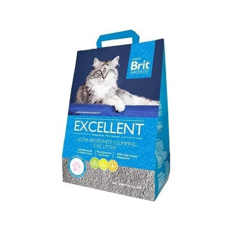 Podstielky Brit Fresh for Cats Excellent Ultra Bentonite 10 kg
