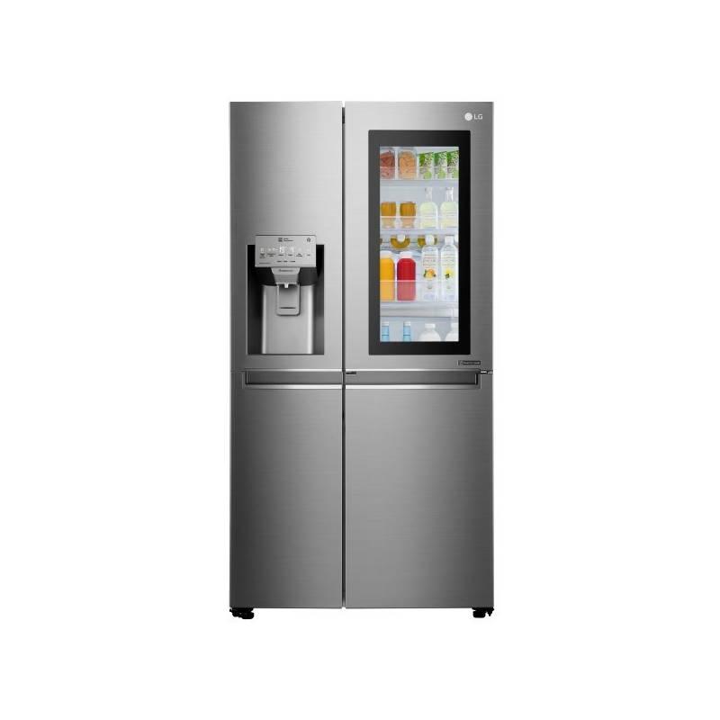 Americká lednice LG GSX961NSAZ nerez + LG 10 let záruka na Lineární kompresor