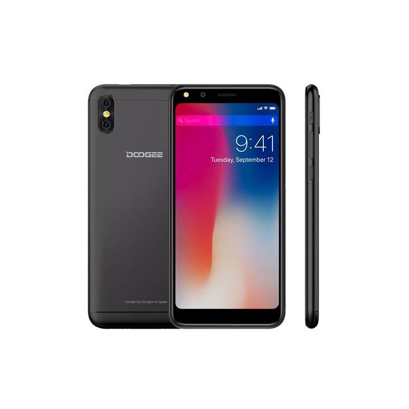 Mobilný telefón Doogee X53 Dual SIM 16 GB (DOOGEEX53BK) čierny