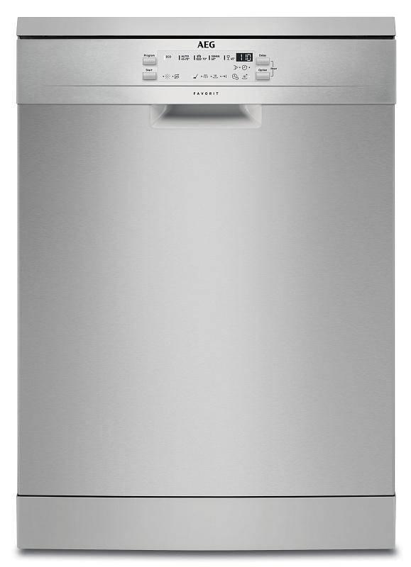 Umývačka riadu AEG Mastery FFB53610ZM nerez + Doprava zadarmo