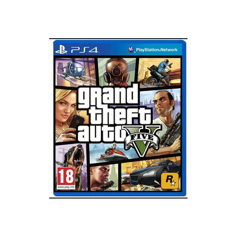 Hra RockStar PlayStation 4 Grand Theft Auto V (428391)