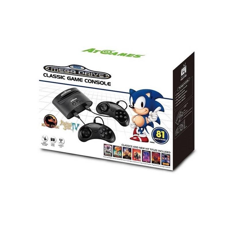 Herní konzole AtGames Sega Mega Drive Classic Game (449346)