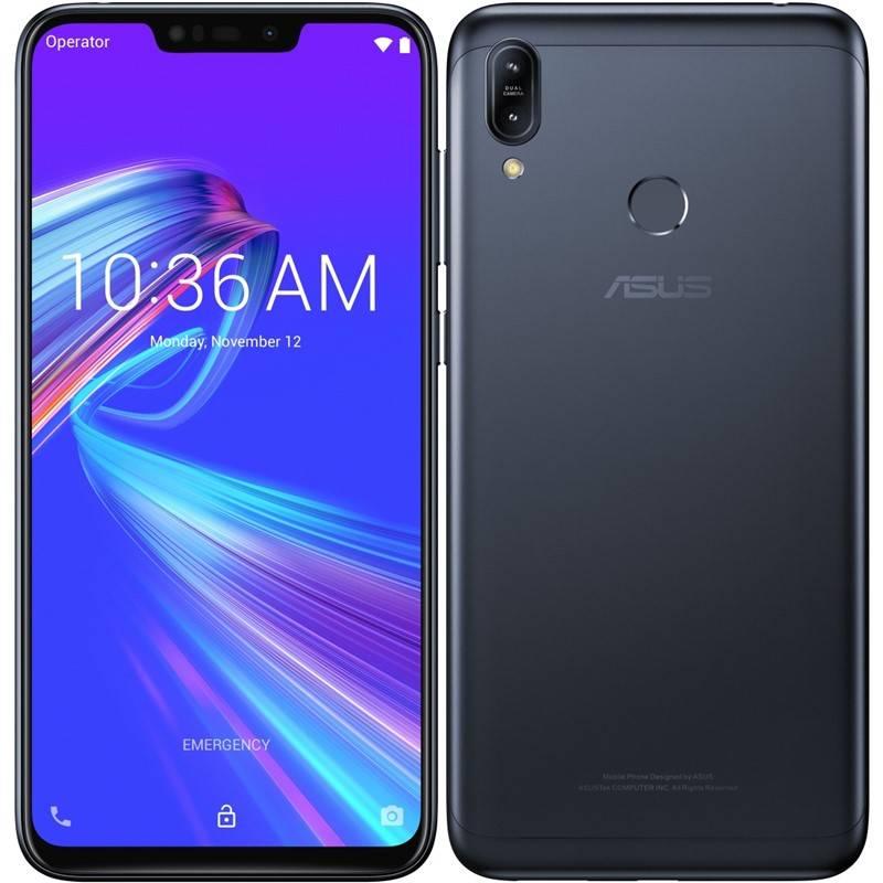 Mobilný telefón Asus ZenFone Max M2 Dual SIM (ZB633KL-4A070EU) čierny
