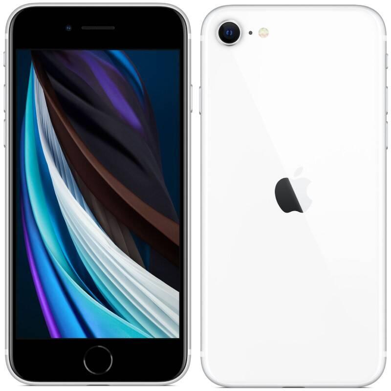 Mobilný telefón Apple iPhone SE (2020) 128 GB - White (MXD12CN/A)