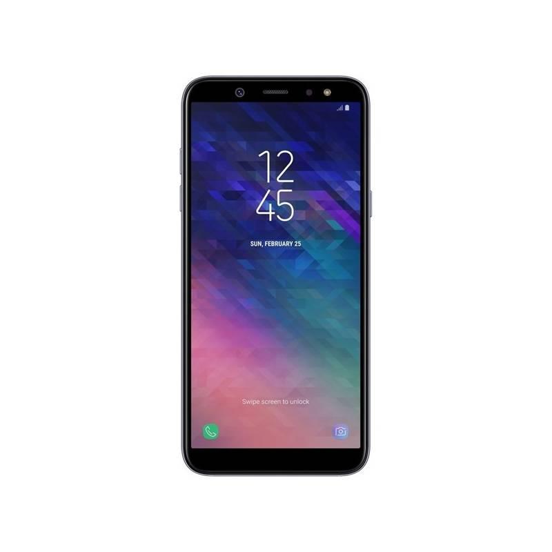 Mobilný telefón Samsung Galaxy A6 (SM-A600FZVNXEZ) fialový Software F-Secure SAFE, 3 zařízení / 6 měsíců (zdarma)