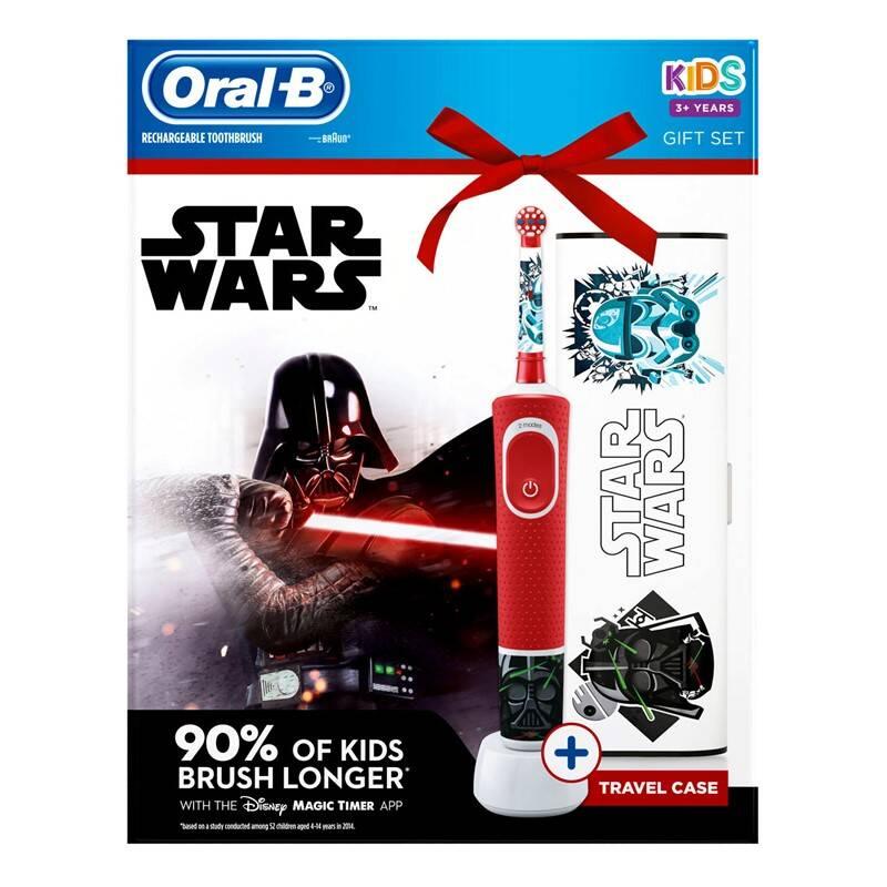 Zubná kefka Oral-B Star Wars Náhradná kefka Oral-B EB 10-4 Cars