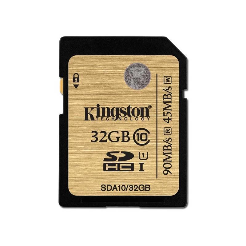 Pamäťová karta Kingston SDHC 32GB UHS-I U1 (90R/45W) (SDA10/32GB)