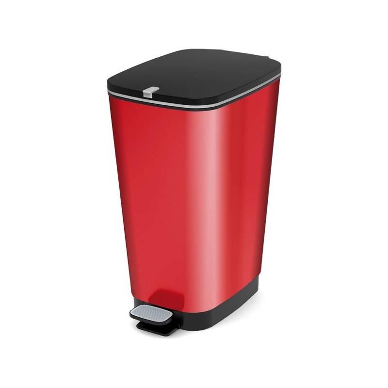 Odpadkový kôš KIS Chic Bin 50 l červená farba
