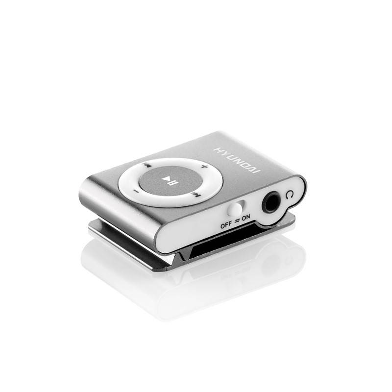 MP3 přehrávač Hyundai MP213S stříbrná barva