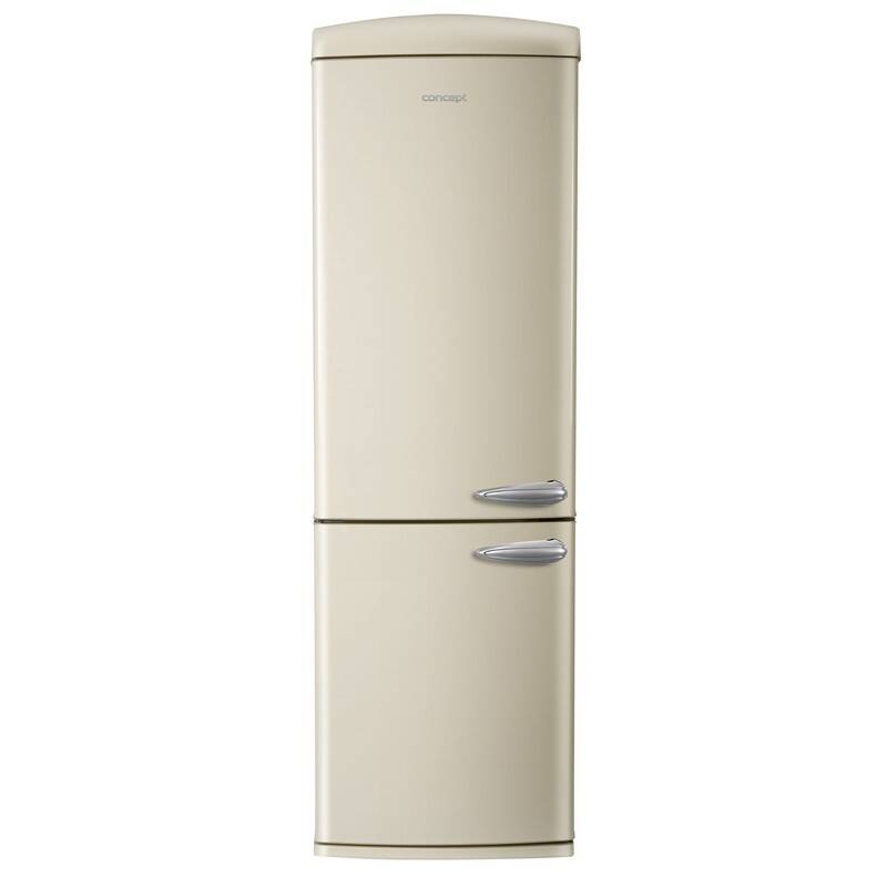 Kombinácia chladničky s mrazničkou Concept LKR7360CL krémová + Doprava zadarmo