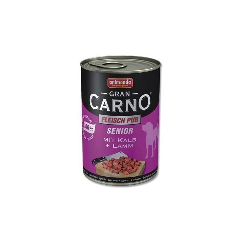 Konzerva Animonda Senior Gran Carno telecí + jehně 400g