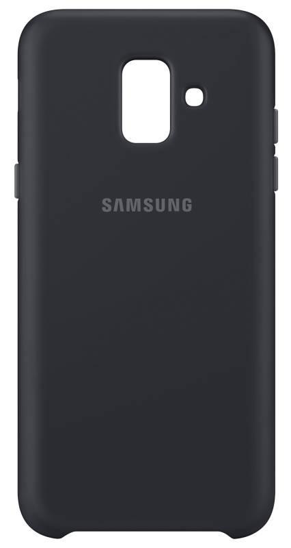 Kryt na mobil Samsung Silicon Cover pro Galaxy J6 (EF-PJ600CBEGWW) čierny