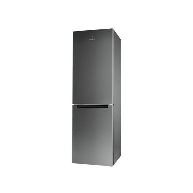 Kombinácia chladničky s mrazničkou Indesit LI8 FF2 X.1 nerez Stolní mixér ETA Activmix 0102 90020 sportovní (zdarma) + Doprava zadarmo