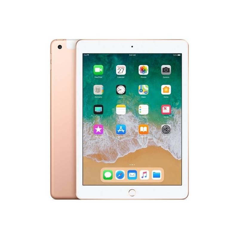 Dotykový tablet Apple iPad (2018) Wi-Fi + Cellular 32GB - Gold (MRM02FD/A)