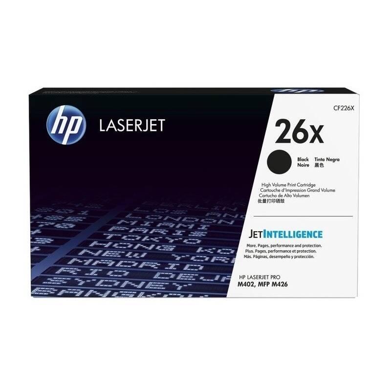 Toner HP 26X, 9000 stran (CF226X) čierny + Doprava zadarmo